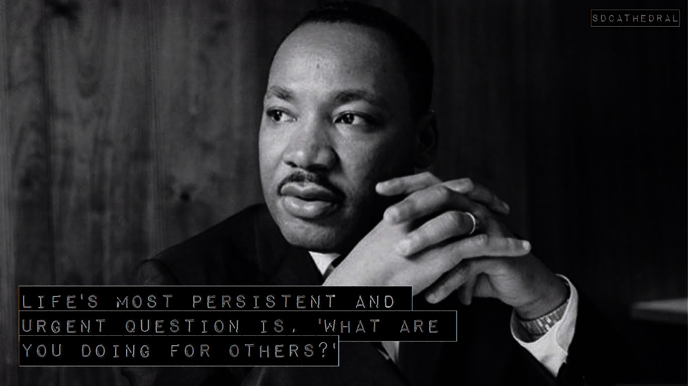 Martin Luther King Jr. Day –Office Closed–