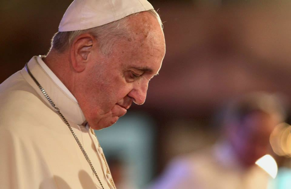 Letter from Pope Francis re: Confession